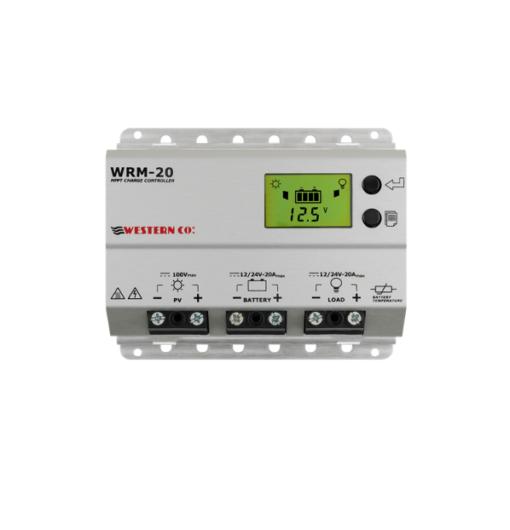Regolatore di Carica Mppt 20A Wrm20 plus RS485 integrato 12-24V 100V