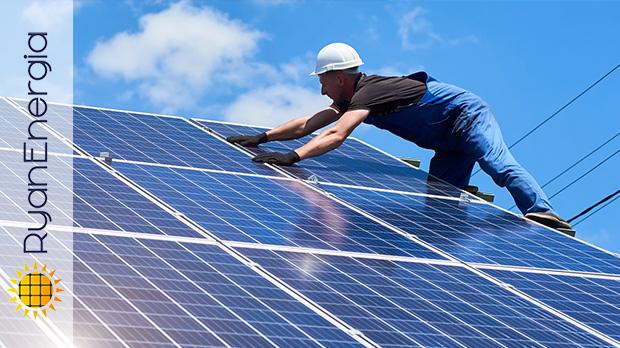 Assistenza e riparazione impianti fotovoltaici e pannelli solari per per baite case