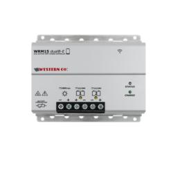 Regolatore Western co WRM15 Dual B 15A mppt x due Batterie app. smartphone
