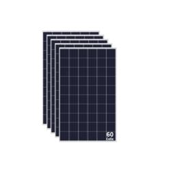 Kit 1,5KWp Moduli Policristallini 285Wp 5 busBar 60 celle E solar M