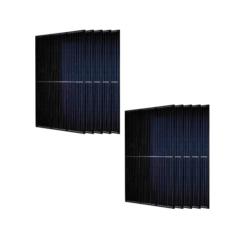 Kit 3KWp Moduli Monocristallinoi 310Wp Black / White o Silver 60 celle E solar V