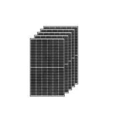 Kit 1,5KWp Moduli Monocristallini 340Wp Silver White Halfcut top MA