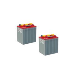 Banco Batteria 12V Piastra Corazzata Tubolare NBA 3TU6E C20 240Ah 6V X Fotovoltaico 1200cicli