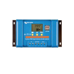 Regolatore di carica BlueSolar 5A PWM LCD&USB 12/24V Victron Energy