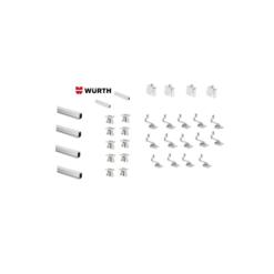 Kit Montaggio Completo Tetto Inclinato 6 Moduli WURTH staffe montaggio