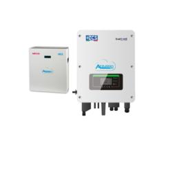 KIT WECO completi di Inverter Ibrido + batteria Litio Ferro Fosfato GRAFENE + Cavi