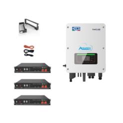 KIT Ibrido Inverter 3Kw Zucchetti + batteria Pylontech 7,2KWh Litio + Cavi + Staffe