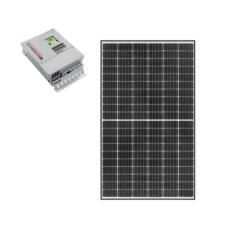 Kit Solare Isola 355Wp regolatore di carica mppt Western co Wrm30 Pannello qcells G8 monocristallini
