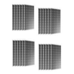 Kit 6Kwp Pannello Torri Solare 300Wp Monocristallino 60 celle TRS 300/220 M Silvered 30 Anni di Garanzia