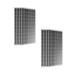 Kit 3,1Kwp Pannelli Torri Solare 390Wp Monocristallino 72 celle TRS 390 M Full black Silvered 30 Anni di Garanzia