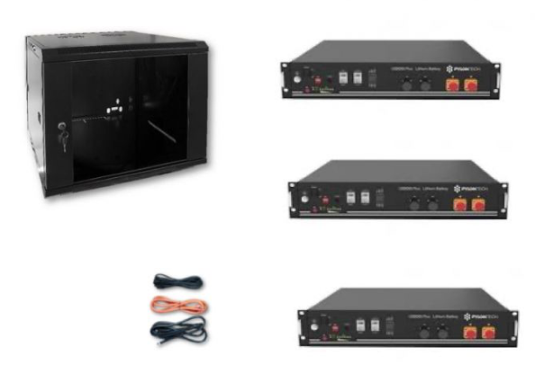Schermata 2020 09 02 alle 08.17.37 Kit Accumulo Armadio 9U + Batterie Pylontech US2000B plus batteria litio 48V 7,2Kwh + cavi Ryanenergia