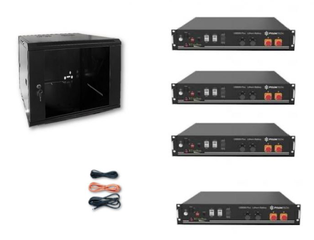 Schermata 2020 09 02 alle 08.29.32 Kit Accumulo Armadio 9U + Batterie Pylontech US2000B plus batteria litio 48V 9,6Kwh + cavi Ryanenergia