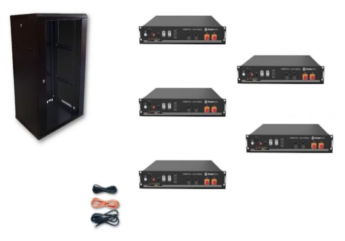 Schermata 2020 09 02 alle 09.26.30 Kit Accumulo Armadio 24U + Batterie Pylontech US2000B plus batteria litio 48V 12Kwh + cavi Ryanenergia