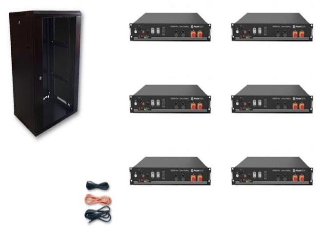Schermata 2020 09 02 alle 09.33.48 Kit Accumulo Armadio 24U + Batterie Pylontech US2000B plus batteria litio 48V 14,4Kwh + cavi Ryanenergia