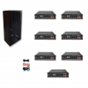 Kit Accumulo Armadio 24U + Batterie Pylontech US2000B plus batteria litio 48V 16,8Kwh + cavi