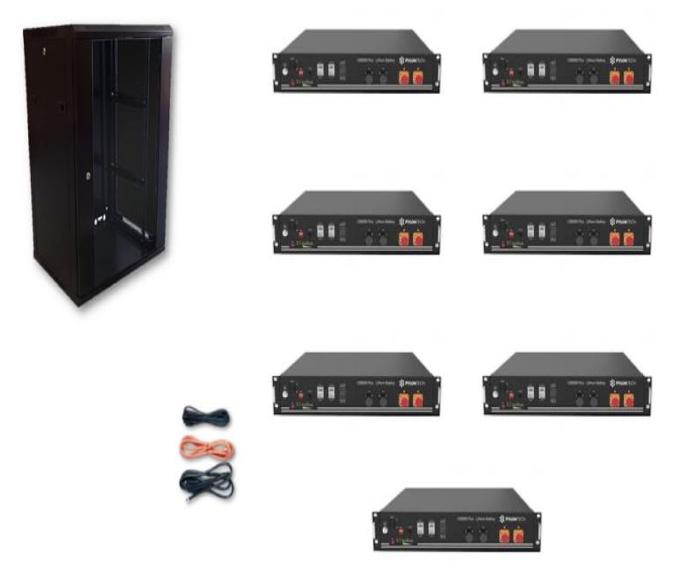 Schermata 2020 09 02 alle 09.40.00 Kit Accumulo Armadio 24U + Batterie Pylontech US2000B plus batteria litio 48V 16,8Kwh + cavi Ryanenergia