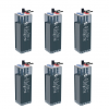 Banco Batteria Opzs 100Ah 12V Faam 2STA55-2 deep cycle ciclica made in Italy top di gamma
