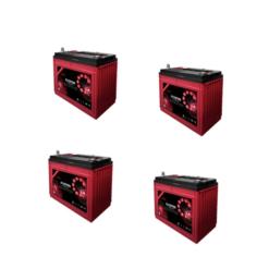 Banco Batteria 140Ah 48V deep cycle ciclica Zenith Agm zl1201106 x Fotovoltaico