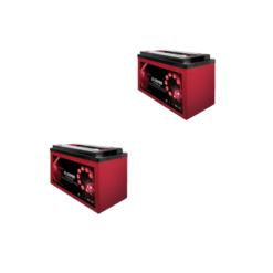 Banco Batteria 12V 260Ah deep cycle ciclica Zenith Agm zl120190 x uso Fotovoltaico