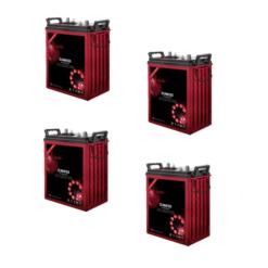 Batteria 670Ah 12V deep cycle ciclica Zenith Agm zl06012 6V x Fotovoltaico