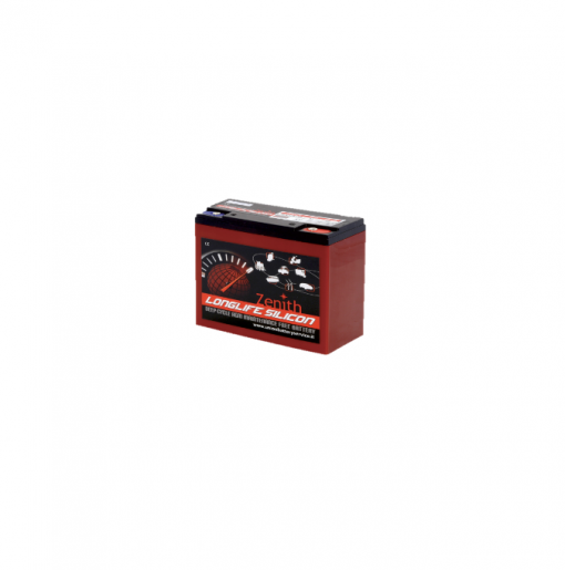 Batteria Silicone 28Ah 12V deep cycle ciclica 1200cicli Zenith Agm ZLS120130 x Fotovoltaico