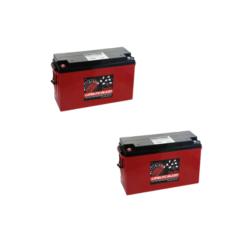 Batteria Silicone 380Ah 12V deep cycle ciclica 1200cicli Zenith Agm ZLS1201115 x Fotovoltaico