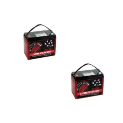 Batteria Silicone 240Ah 12V deep cycle ciclica 1200cicli Zenith Agm ZLS120190 x Fotovoltaico