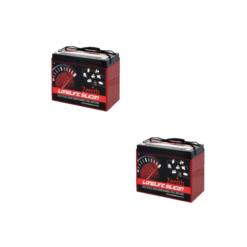 Banco Batteria Silicone 210Ah 12V deep cycle ciclica 1200cicli Zenith Agm ZLS120185 x Fotovoltaico