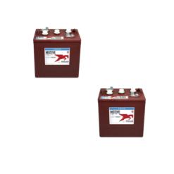 Banco Batteria 12V 145Ah Trojan deep cycle ciclica 1200cicli TR145 plus acido libero x Fotovoltaico