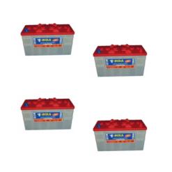 Banco Batteria 420Ah 12V Piastra Corazzata Tubolare NBA 4AX12N C20 X Fotovoltaico