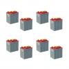 Banco Batteria 12V 960Ah Piastra Corazzata Tubolare NBA 3TU6E C20 240Ah 6V X Fotovoltaico 1200cicli