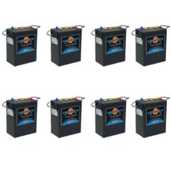 Banco Batteria 700Ah 24V Piastra Corazzata Tubolare NBA Maxxima C20 350Ah 6V X Fotovoltaico 1200cicli