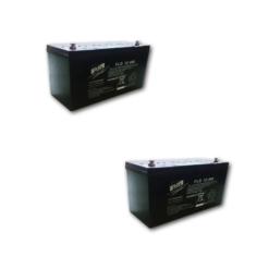 Banco Batteria 400Ah 12V Stazionaria Faam Gel Flg200-12 x uso Fotovoltaico