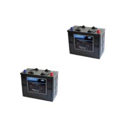 Banco Batteria 280Ah 12V LUMINOR 12Volt LDCG12-140 x uso Fotovoltaico