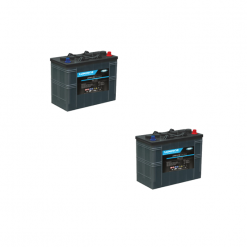 Banco Batteria 180Ah 12V LUMINOR 12Volt LDCG12-90 x uso Fotovoltaico