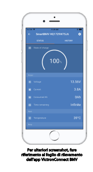 Schermata 2020 09 30 alle 10.45.29 Dispositivo Controllo Batterie Monitor Victron Energy BMV-702 Possibilità Bluetooth Nero BAM010702200R Ryanenergia