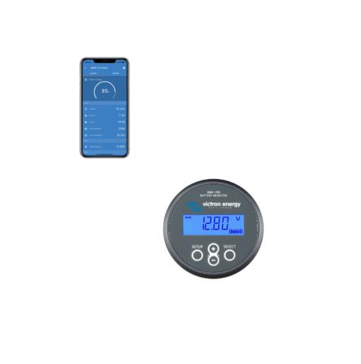 Dispositivo Controllo Batterie Monitor Victron Energy BMV-700 Bluetooth integrato