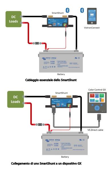 Schermata 2020 10 02 alle 10.07.11 Dispositivo Controllo Batterie Monitor batteria Victron Energy SmartShunt 1000A Bluetooth integrato SHU050210050 Ryanenergia