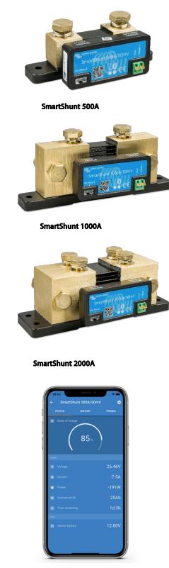 Schermata 2020 10 02 alle 10.09.09 Dispositivo Controllo Batterie Monitor batteria Victron Energy SmartShunt 1000A Bluetooth integrato SHU050210050 Ryanenergia