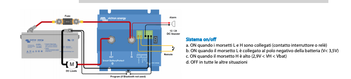 Schermata 2020 10 02 alle 15.58.30 Dispositivo x proteggere batterie 12-24V Smart BP-220 BatteryProtect 220A Victron Energy Bluetooth BPR122022000 Ryanenergia