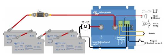 Schermata 2020 10 02 alle 17.43.09 Dispositivo x proteggere batterie 48V Smart SBP-100 BatteryProtect 100A Victron Energy Bluetooth BPR110048000 Ryanenergia