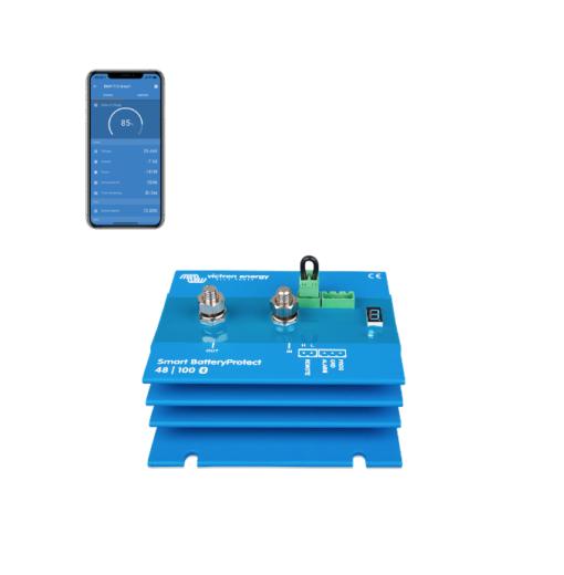 Dispositivo x proteggere batterie 48V Smart SBP-100 BatteryProtect 100A Victron Energy Bluetooth