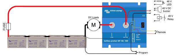 Schermata 2020 10 03 alle 10.52.04 Dispositivo x proteggere batteria 48V BP-100 BatteryProtect 100A Victron Energy BPR048100400 Ryanenergia