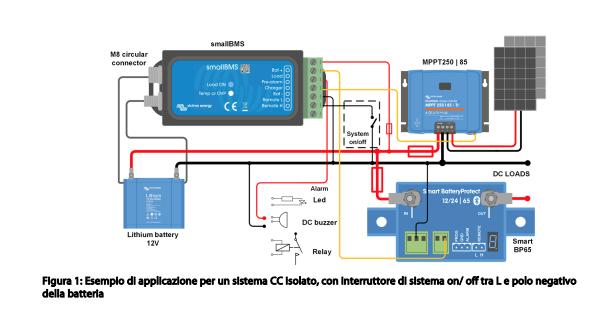 Schermata 2020 10 05 alle 08.07.53 Mini Battery Management System x batteria Litio x sistemi da 12V-24V-48V Victron Energy BMS400100000 Ryanenergia