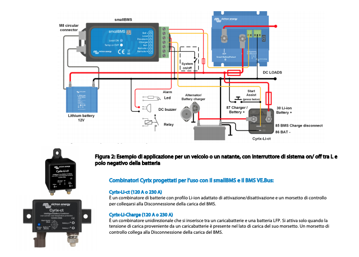 Schermata 2020 10 05 alle 08.08.03 Mini Battery Management System x batteria Litio x sistemi da 12V-24V-48V Victron Energy BMS400100000 Ryanenergia