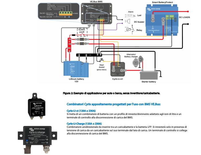 Schermata 2020 10 05 alle 09.22.31 Centralina di Gestione Batterie VE.Bus BMS Victron Energy (LiFePO4 o LFP) BMS300200000 Ryanenergia
