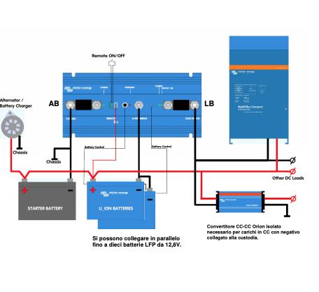 Schermata 2020 10 06 alle 11.44.01 Sistema di gestione della batteria litio BMS CL 12/100 Vectron Energy Smart BMS110022000 Ryanenergia