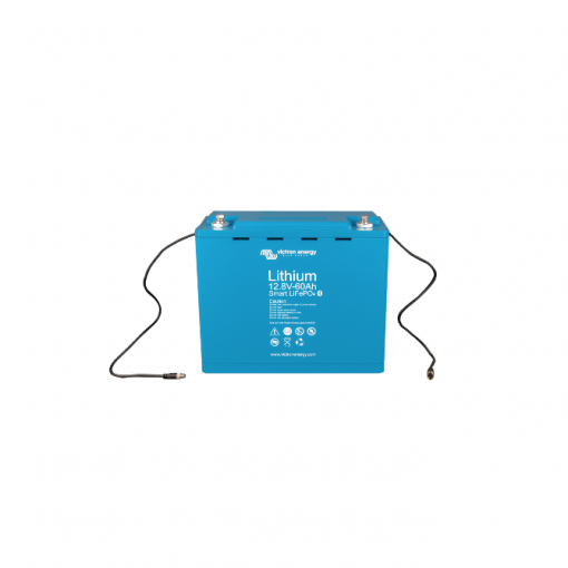 Batteria LiFePO4 battery 12,8V 60Ah Smart 12V Victron Energy Litio
