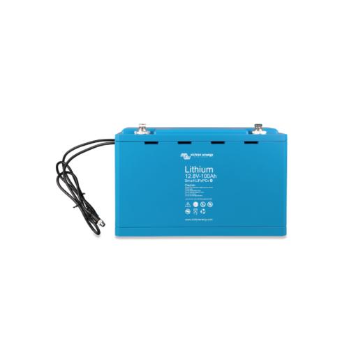 Batteria LiFePO4 battery 12,8V 100Ah Smart 12V Victron Energy Litio