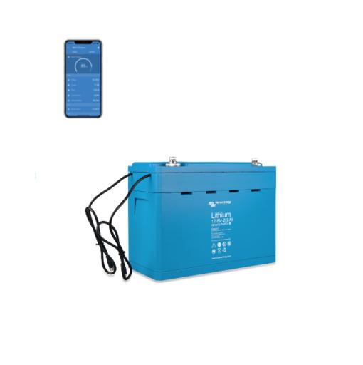 Batteria LiFePO4 battery 12,8V 200Ah Smart 12V Victron Energy Litio